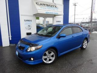 Used 2009 Toyota Corolla XRS, Sunroof, Automatic, New Tires, No Accidents!! for sale in Langley, BC
