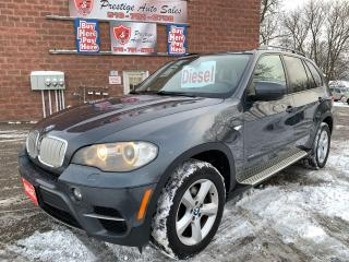 Used 2011 BMW X5 35d/DIESEL/NO ACCIDENT/CERTIFIED/WARRANTY INCLUDED for sale in Cambridge, ON