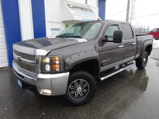 Used 2010 Chevrolet Silverado 2500 LT 4x4, Crew 6.6 Box, Duramax Diesel Allison Trans for sale in Langley, BC