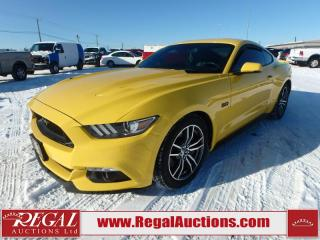 Used 2017 Ford MUSTANG GT PREMIUM 2D COUPE 5.0L for sale in Calgary, AB