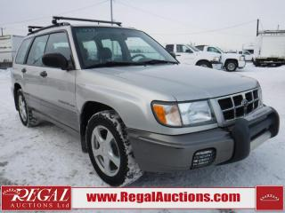 Used 1999 Subaru FORESTER LIMITED 4D UTILITY AWD for sale in Calgary, AB
