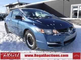 Used 2009 Honda CIVIC DX-G 2D COUPE for sale in Calgary, AB