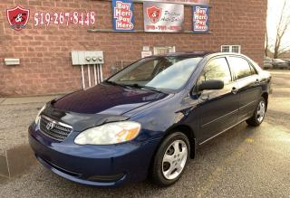 Used 2007 Toyota Corolla CERTIFIED/WARRANTY INCLUDED for sale in Cambridge, ON
