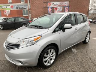 Used 2014 Nissan Versa Note SL/ONE OWNER/NO ACCIDENT/CERTIFIED/WARRANTY INCLUD for sale in Cambridge, ON