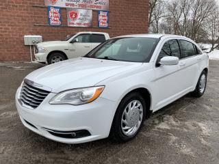 Used 2014 Chrysler 200 Touring/NO ACCIDENTS/CERTIFIED/WARRANTY INCLUDED for sale in Cambridge, ON