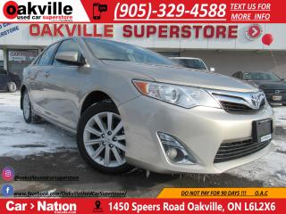 Used 2014 Toyota Camry LE | B/U CAM | HTD SEATS | NAVI | BLUETOOTH for sale in Oakville, ON