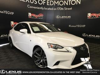 Used 2016 Lexus IS 300 F Sport Series 3 for sale in Edmonton, AB