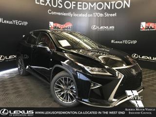 New 2019 Lexus RX 350 F Sport Series 3 for sale in Edmonton, AB