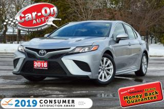Used 2018 Toyota Camry SE LEATHER REAR CAM HTD SEATS NAV READY LOADED for sale in Ottawa, ON