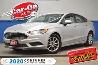 Used 2017 Ford Fusion SE Only $109 bi-weekly! o.a.c. SE SUNROOF REAR CAM for sale in Ottawa, ON