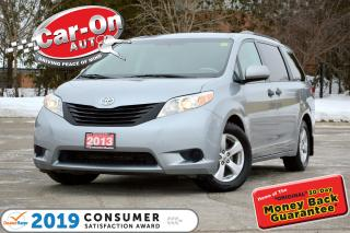 Used 2013 Toyota Sienna V6 7 Passenger TRI-ZONE CLIMATE CRUISE ALLOYS for sale in Ottawa, ON