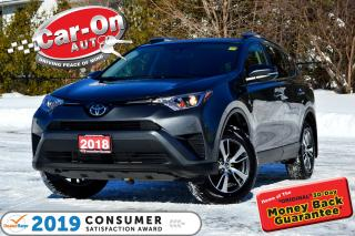 Used 2018 Toyota RAV4 LE AWD REAR CAM HTD SEATS ADAPTIVE CRUISE LOADED for sale in Ottawa, ON
