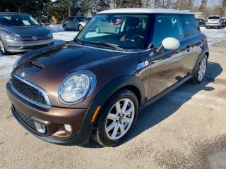 Used 2012 MINI Cooper Hardtop 2dr Cpe S, automatic, pano roof for sale in Halton Hills, ON