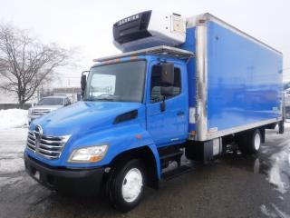 Used 2010 Hino 258 20 Foot Cube Van Reefer Diesel Power Tailgate for sale in Burnaby, BC