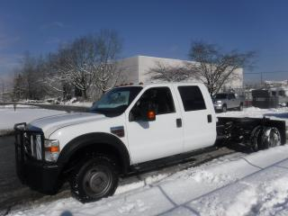Used 2010 Ford F-450 SD XL Crew Cab 4WD Cab and Chassis Diesel for sale in Burnaby, BC