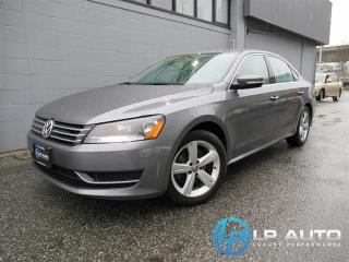 Used 2014 Volkswagen Passat 1.8 TSI Comfortline for sale in Richmond, BC