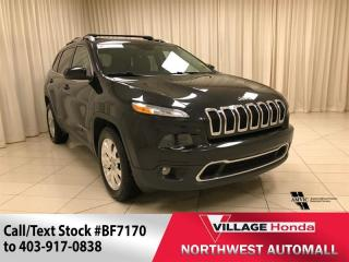 Used 2015 Jeep Cherokee Limited 4X4 for sale in Calgary, AB