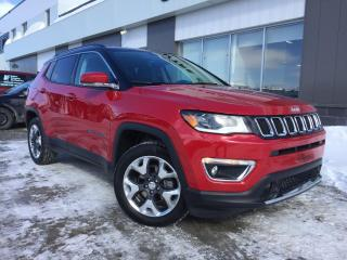 Used 2017 Jeep Compass LIMITED 4X4 PLAN OR CUIR GPS for sale in Ste-Marie, QC