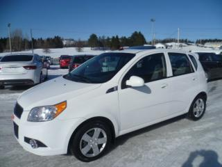 Used 2011 Chevrolet Aveo LT TOIT OUVRANT for sale in East broughton, QC