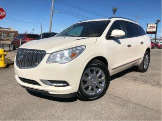 Used 2015 Buick Enclave Leather|New Tires| AWD |Moonroof | for sale in St Catharines, ON
