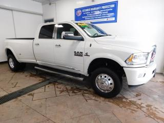 Used 2018 RAM 3500 Limited LEATHER NAVI SUNROOF *DIESEL* for sale in Listowel, ON