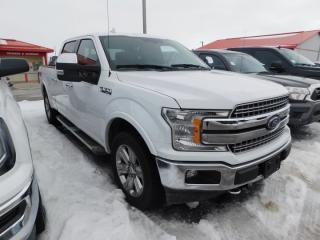 Used 2018 Ford F-150 LARIAT SUPERCREW 5.5 for sale in Listowel, ON