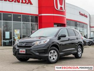 Used 2016 Honda CR-V LX 2WD - *HEATED SEATS | BACKUP CAMERA* for sale in Milton, ON