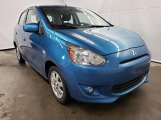 Used 2014 Mitsubishi Mirage SE for sale in Drummondville, QC