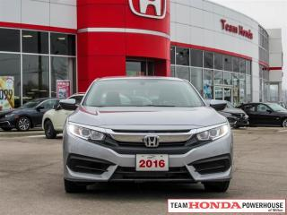 Used 2016 Honda Civic LX - *CARPLAY/ANDROID AUTO | BACKUP CAMERA* for sale in Milton, ON
