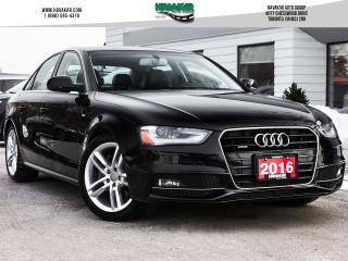 Used 2016 Audi A4 2.0T Technik plus   Loaded for sale in North York, ON