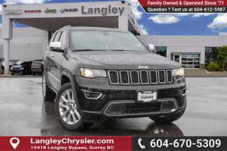 Used 2017 Jeep Grand Cherokee Limited for sale in Surrey, BC