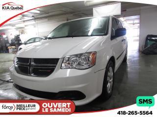 Used 2014 Dodge Grand Caravan Se Audio Au for sale in Québec, QC