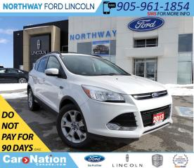 Used 2013 Ford Escape SEL | NAV | HTD LEATHER | PANOROOF | for sale in Brantford, ON