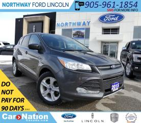 Used 2015 Ford Escape SE | KEYLESS ENTRY | BACKUP CAM | HTD SEATS for sale in Brantford, ON