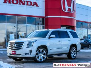 Used 2015 Cadillac Escalade Premium - *NAVI | DVD | EXTENDED WARRANTY* for sale in Milton, ON