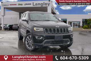 Used 2018 Jeep Grand Cherokee Limited *BLUETOOTH* * NAVIGATION* * BACKUP CAMERA* for sale in Surrey, BC