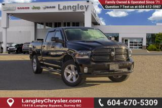 Used 2015 RAM 1500 Sport *UPGRADED TIRES* * TONNEAU COVER* for sale in Surrey, BC