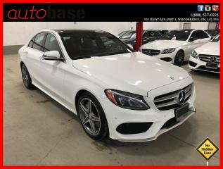 Used 2016 Mercedes-Benz C-Class C300 4MATIC HEAD-UP DISPLAY PREMIUM PLUS SPORT LED for sale in Vaughan, ON