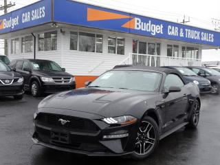 Used 2018 Ford Mustang EcoBoost Premium Edition Convertible for sale in Vancouver, BC