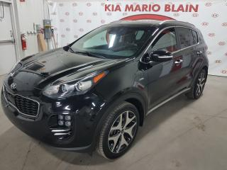 Used 2017 Kia Sportage SX Turbo AWD * GPS * TOIT PANO * CUIR * for sale in Ste-Julie, QC