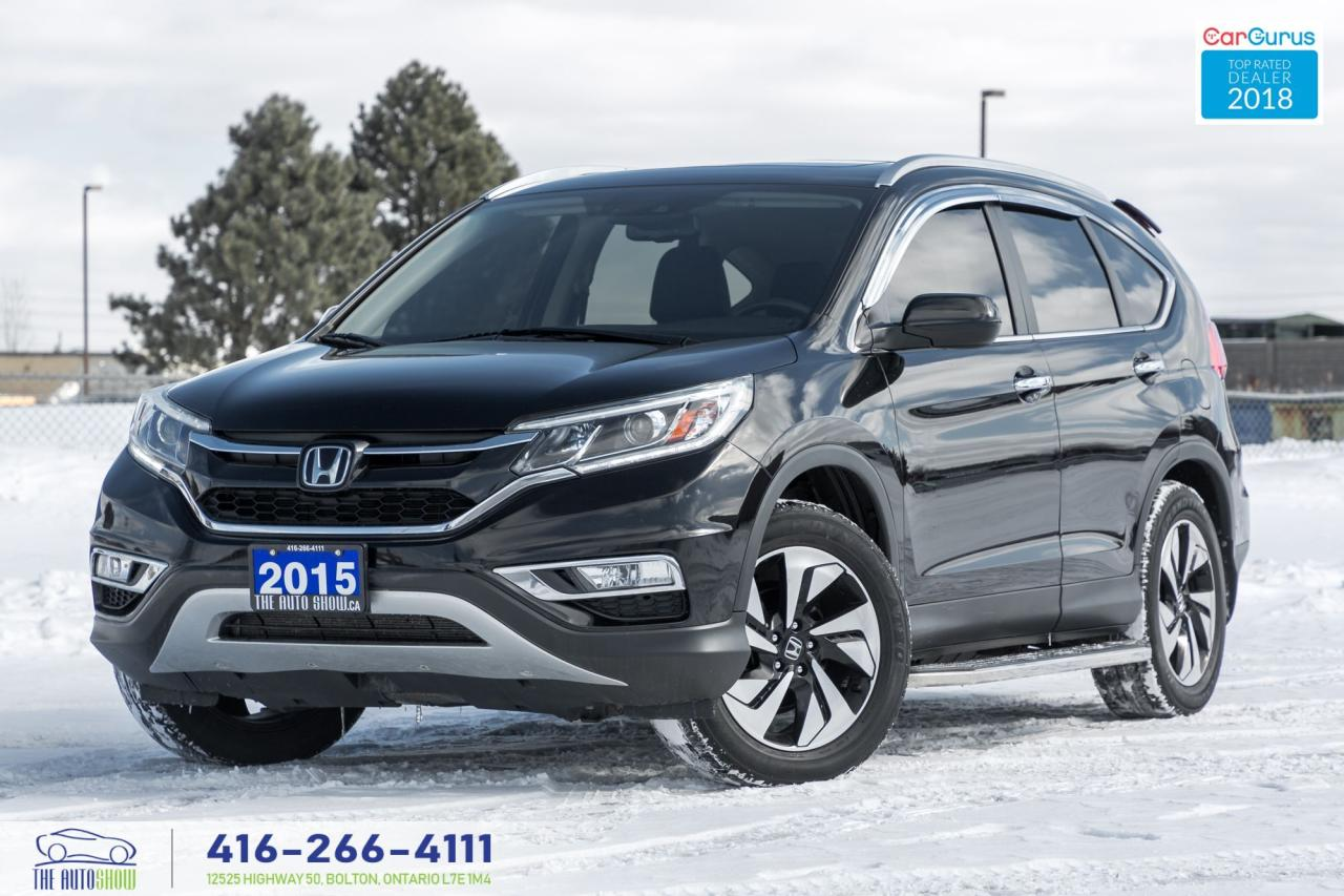 2015 Honda CR-V Touring Navi Gps AWD 1 owner No Accidents Warranty
