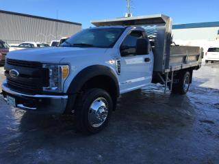 Used 2017 Ford F-550 XL cabine simple 4RM 145 po DCE de 60 po for sale in Drummondville, QC