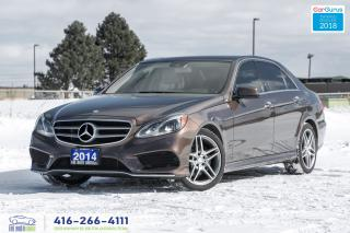 Used 2014 Mercedes-Benz E-Class E-350 4-MATIC AWD AMG CERTIFIED SERVICED STUNNING for sale in Bolton, ON