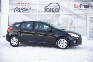 Used 2012 Ford Focus SE HATCHBACK***JAMAIS ACCIDENTE*** for sale in Québec, QC