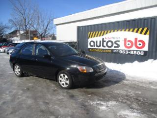Used 2007 Kia Spectra Berline 4 portes, boîte manuelle LX for sale in Laval, QC