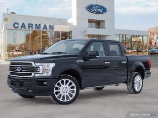 New 2019 Ford F-150 Limited  for sale in Carman, MB