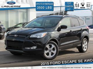 Used 2015 Ford Escape Se Awd Toit for sale in Victoriaville, QC