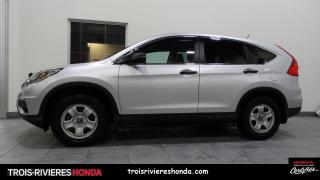Used 2016 Honda CR-V 2WD LX for sale in Trois-Rivières, QC