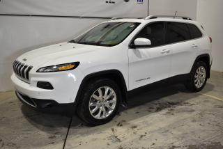 Used 2015 Jeep Cherokee Ltd+cuir+navigaton+t for sale in Sherbrooke, QC