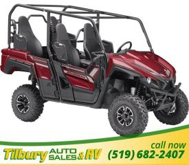 New 2019 Yamaha Wolverine X4 EPS 847 cc, liquid-cooled in-line twin for sale in Tilbury, ON